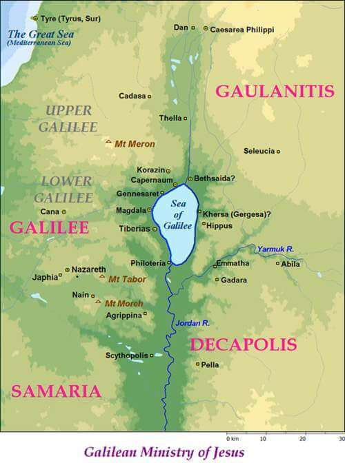 Galilee in the Time of Jesus