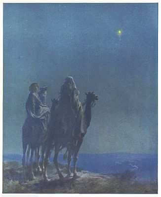 The Three Wise Men Painted by W. L. Taylor